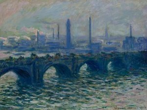 claude monet waterloo brücke london