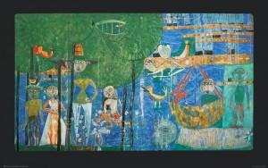 Hundertwasser_Granolithographie_PARADISE - PARADIES