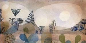 Klee, Paul - Oceanic Landscape