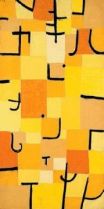 Klee, Paul - Signs in Yellow