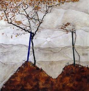 Schiele, Egon - Autumn Sun I