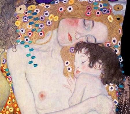 Die drei Leben - Gustav Klimt