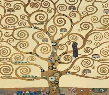 Lebensbaum II - Gustav Klimt