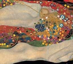 Wasserschlangen - Gustav Klimt
