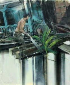 """Original Ölgemälde """"Erinnerungen"""" von Tomas Spevak"""
