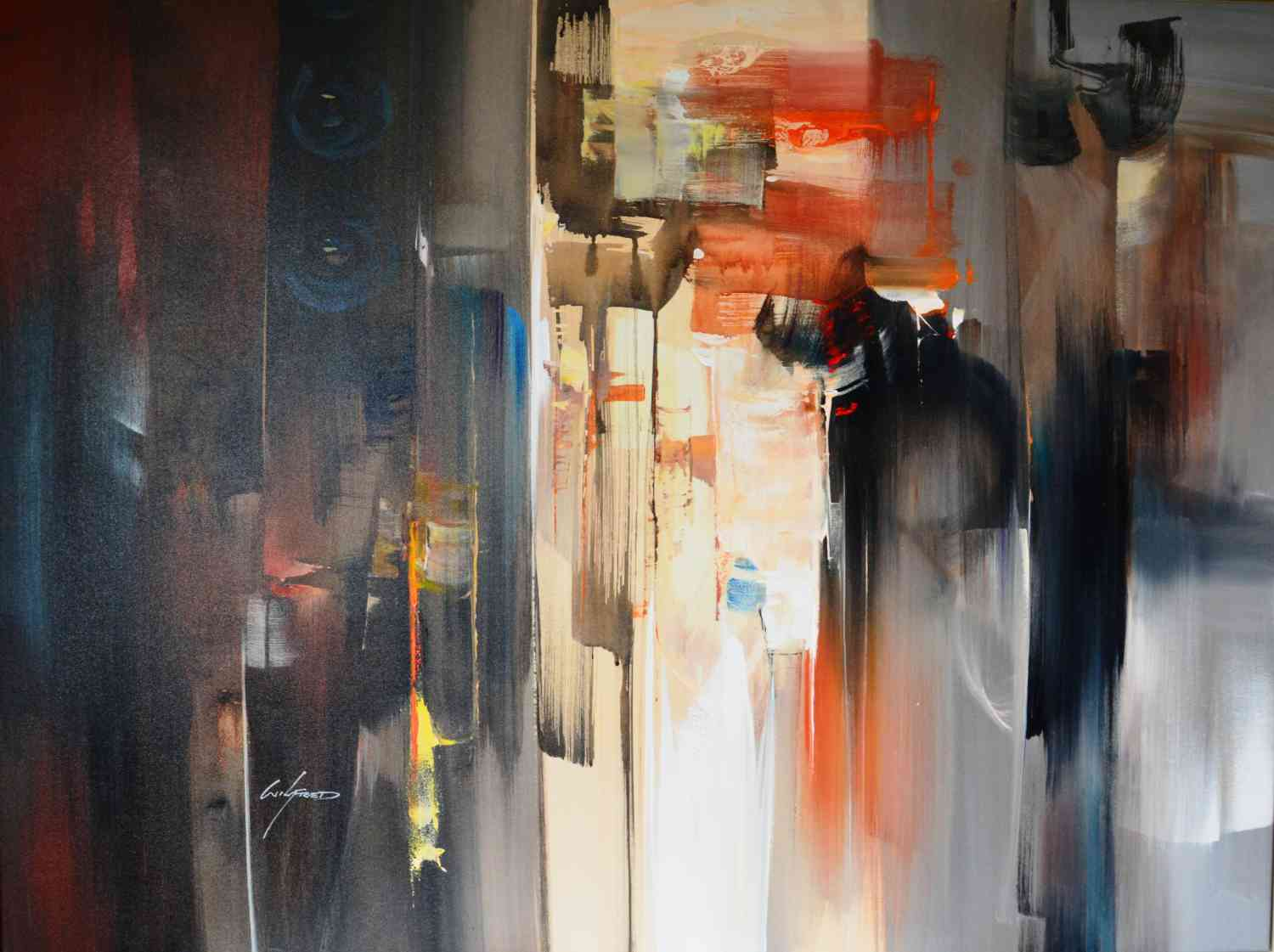 Abstraction von Wilkinson120 x 90cm