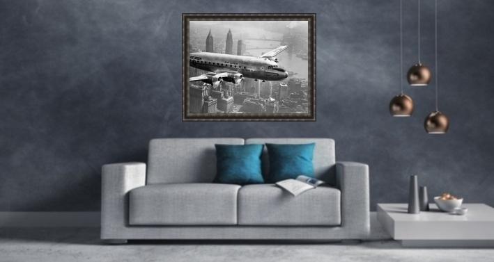 foto über sofa